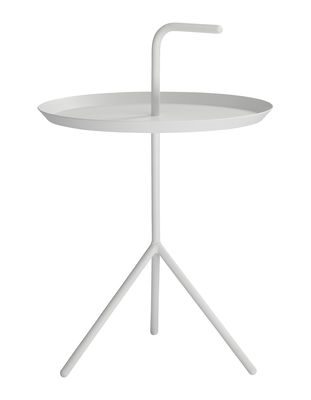 Furniture - Coffee Tables - Don't leave Me Coffee table by Hay - White - Lacquered steel