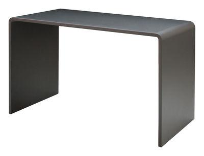 Furniture - Office Furniture - Solitaire Desk - L 120 cm by Zeus - Dark grey - Painted steel