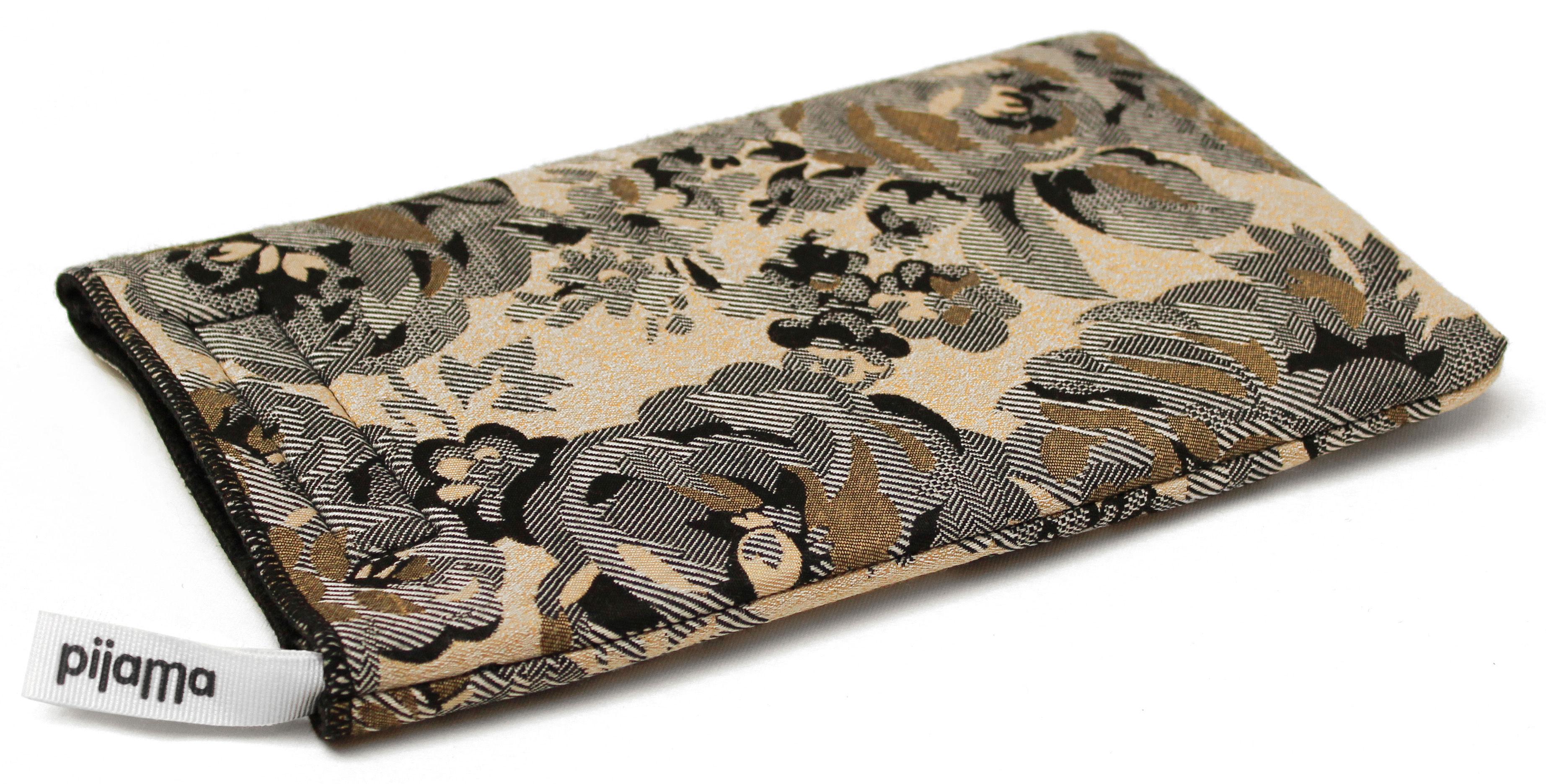 Accessoires - Sacs, trousses, porte-monnaie... - Housse pour tablette Flower / Pour iPad Mini - Pijama - Fleurs - Tissu Jacquard