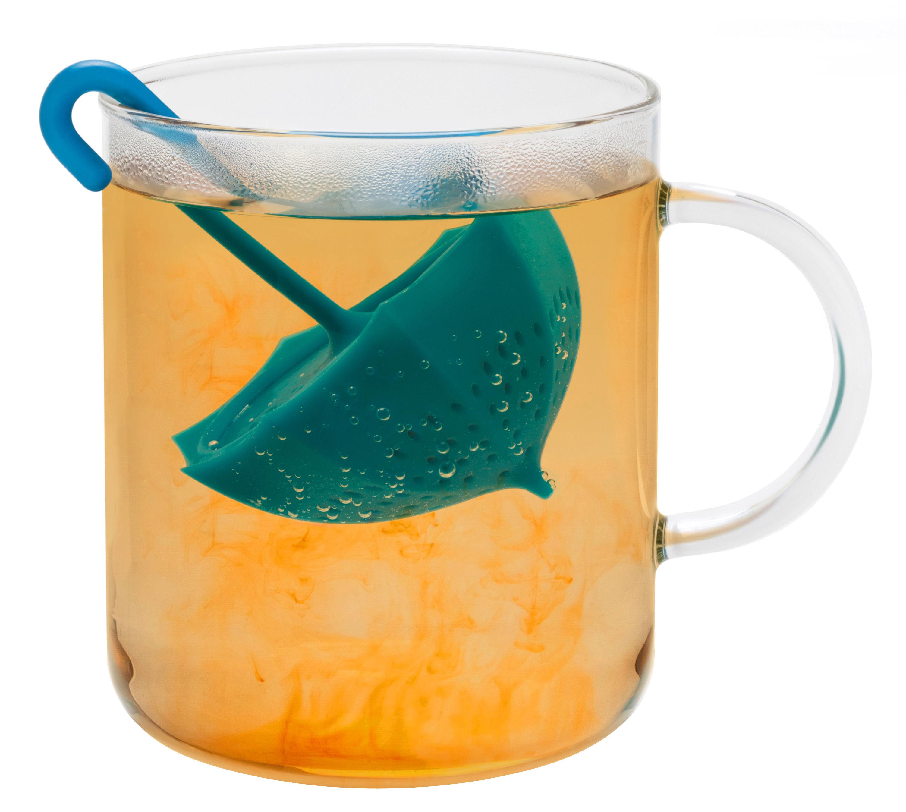 Tableware - Tea & Coffee Accessories - Umbrella Infuser by Pa Design - Blue - Flexible silicone