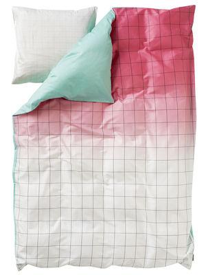 Pastel ou Fluo - Fluo - Parure de lit 2 personnes S&B Minimal / 220 x 240 cm - Hay - Sirop (Tons rose et turquoise) - Coton