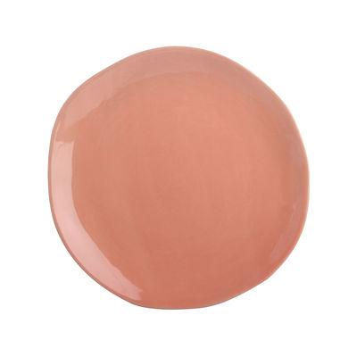 Image of Piatto - / Porcellana - Ø 22 cm di & klevering - Arancione - Ceramica