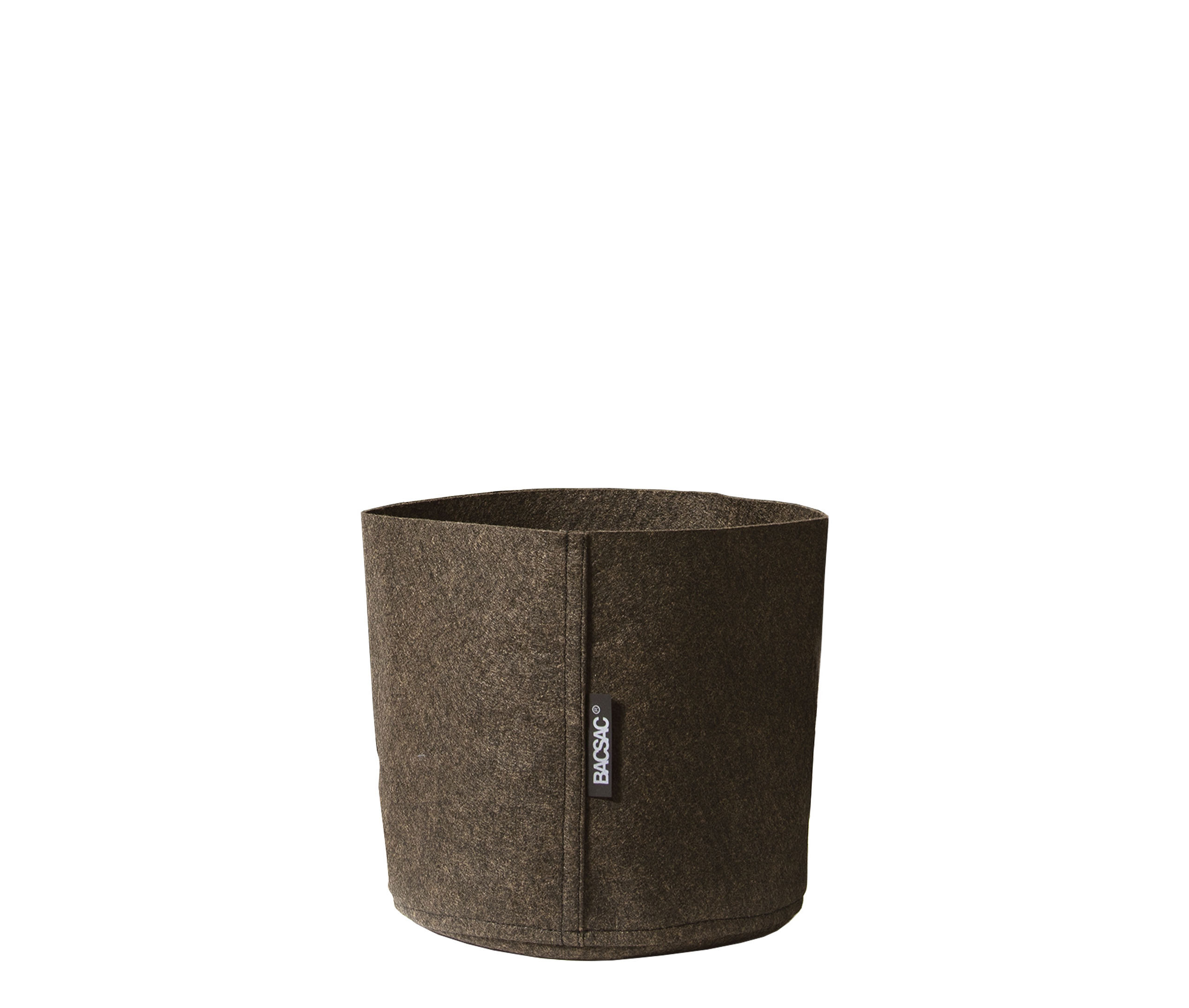 Jardin - Pots et plantes - Pot de fleurs Humus Feutre / Outdoor - 3 L - Bacsac - 3 L / Marron - Feutre géotextile