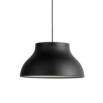 Luminaire - Suspensions - Suspension PC Medium / Ø 40 cm - Aluminium - Hay - Noir - Aluminium anodisé