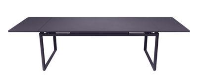 Table à rallonge Biarritz / L 200 à 300 cm - Fermob prune en métal