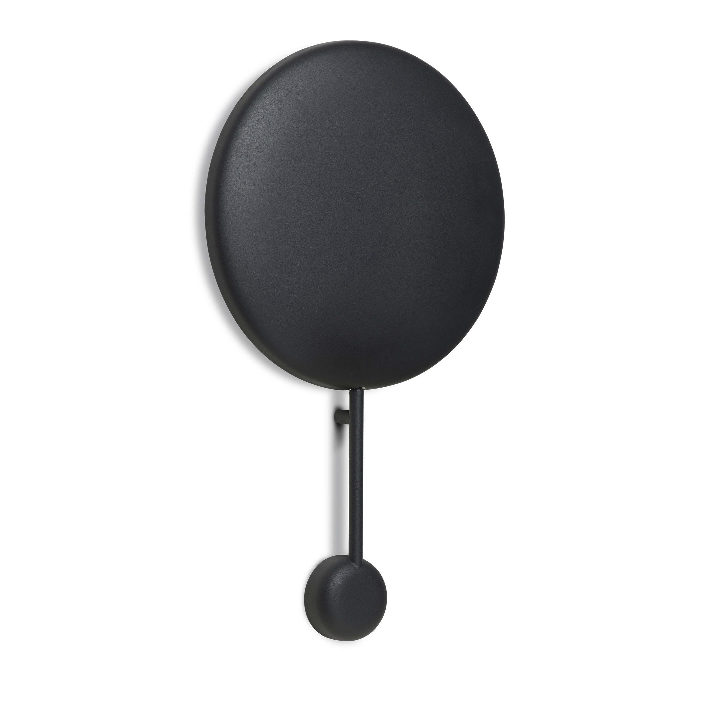 Lighting - Wall Lights - Ink LED Wall light with plug - / H 62 cm by Northern  - Mat black - Steel
