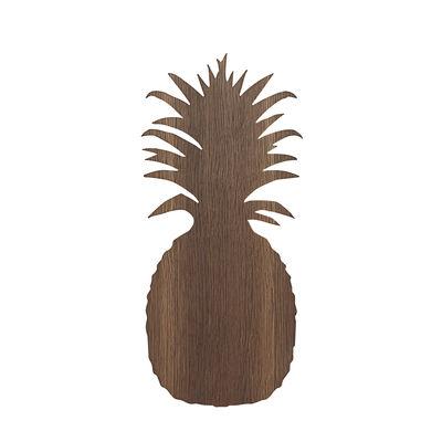 Ananas Wandleuchte / Eiche - Ferm Living - Geräucherte Eiche