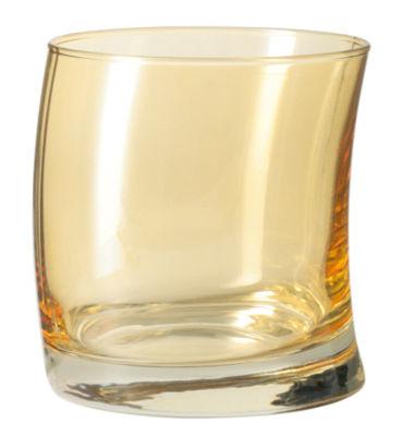 Tischkultur - Gläser - Swing Whisky Glas - Leonardo - Bernsteinfarben - Glas