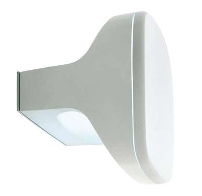 Luminaire - Appliques - Applique Sky / Plafonnier - Luceplan - Ampoule fluorescente - Blanc - Aluminium, Méthacrylate