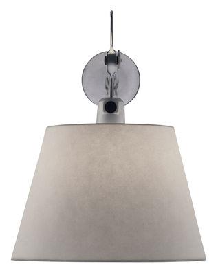 Applique Tolomeo / Ø 24 cm - Artemide gris en métal