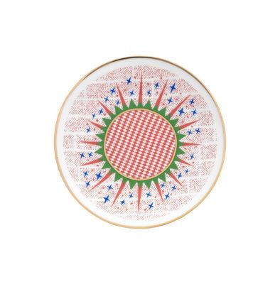 Arts de la table - Assiettes - Assiette à dessert Bel Paese - Stelline / Ø 12 cm - Bitossi Home - Etoile - Porcelaine