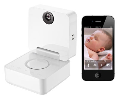Decoration - Children's Home Accessories - Smart Baby Monitor Baby monitor - / Video Baby Monitor iPhone connection by Nokia - White - Plastic material