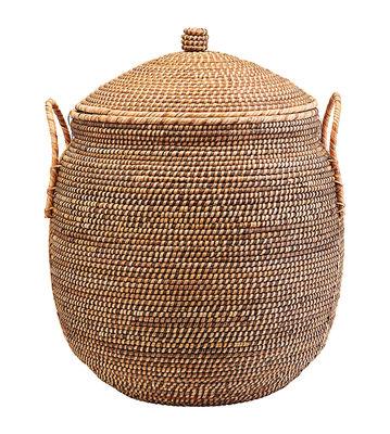 Decoration - Boxes & Baskets - Azeema Basket - / Rattan - Ø 53 x H 64 cm by House Doctor - Ø 53 x H 64 cm / Rattan - Rattan