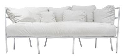 Canapé droit Dehors 2 places L 173 cm Alias blanc en métal