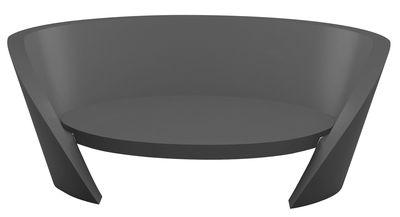 Canapé Rap / L 170 cm - Slide gris en matière plastique