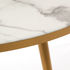 Coffee table - / Ø 80 x H 35 - Marble look by Pols Potten