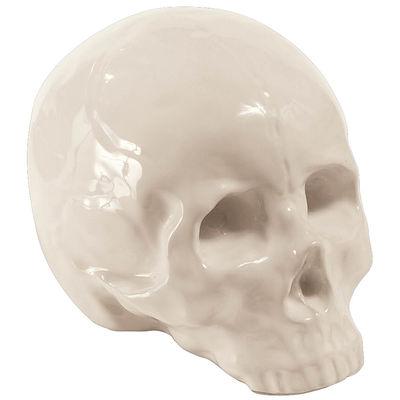 Déco - Objets déco et cadres-photos - Décoration Memorabilia My Skull / Crâne en porcelaine - Seletti - Blanc - Crâne - Porcelaine