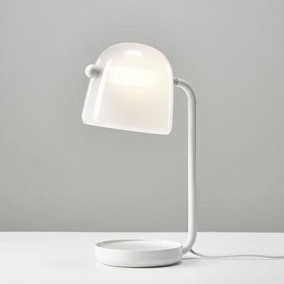 Image of Lampada da tavolo Mona - / Vetro di Brokis - Bianco - Vetro