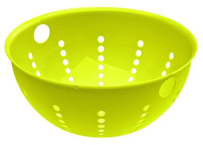 Cuisine - Ustensiles de cuisines - Passoire Palsby Large / Ø 28 cm - Koziol - Moutarde - Plastique