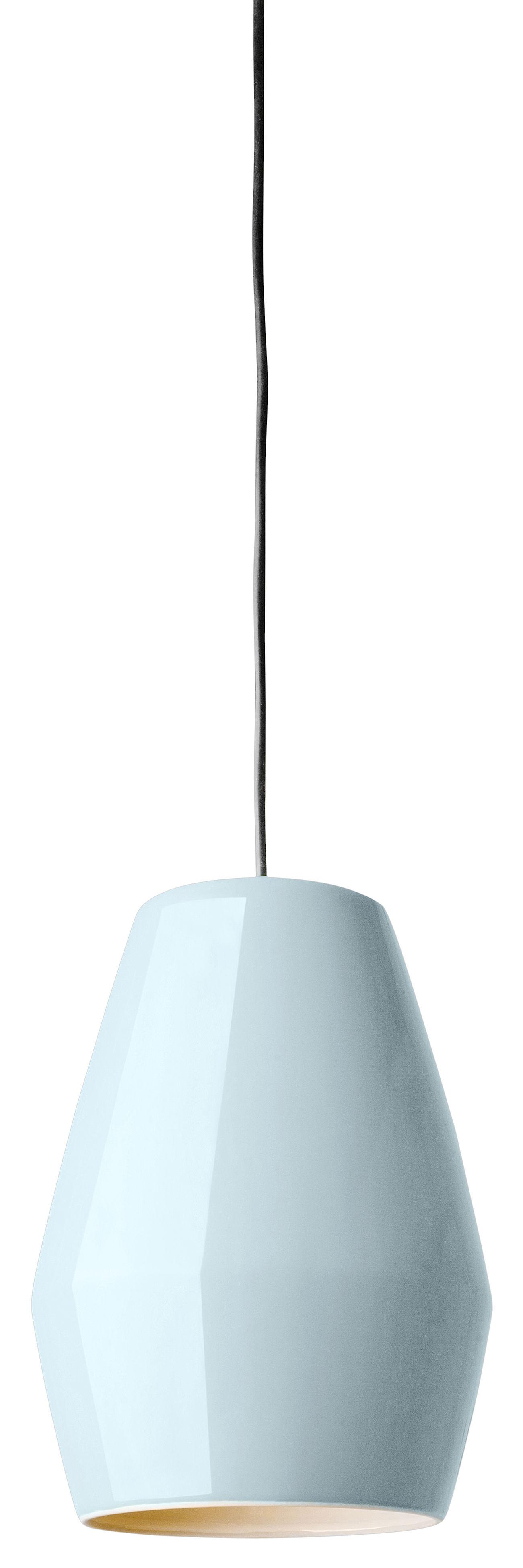Leuchten - Pendelleuchten - Bell Pendelleuchte aus Porzellan - Northern  - Hellblau - Porzellan