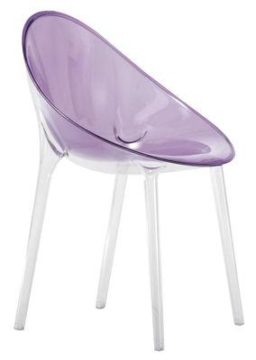 Mr. Impossible Sessel - Kartell - Violett transparent