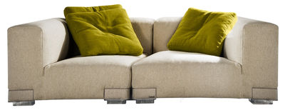 Plastics Duo Sofa Komposition Nr. 2 - Kartell - Ecru