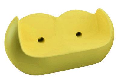 Image of Sofà Blossy di Slide - Giallo - Materiale plastico
