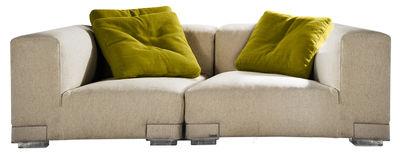 Plastics Duo Sofa Komposition Nr. 2 - Kartell - Ecru