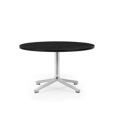 Table basse Lunar / Ø 70 x H 40 cm - Chêne noir - Normann Copenhagen noir en bois