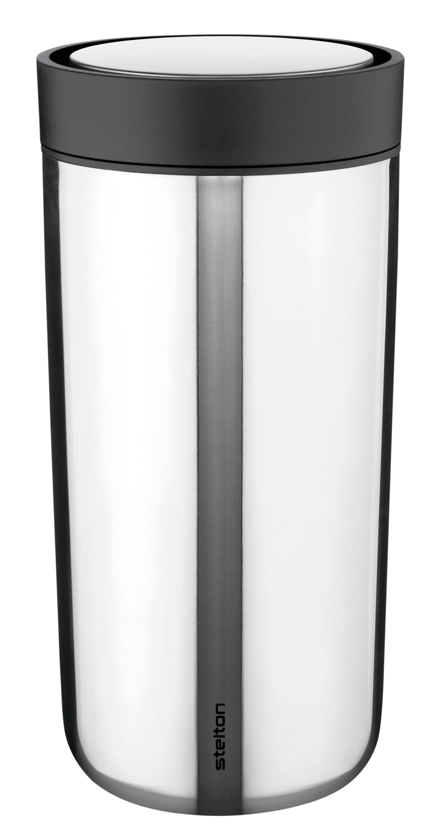 Tischkultur - Tassen und Becher - To Go Click Thermobecher Thermosbecher / mit Deckel - 34 cl - Stelton - Stahl - Plastik, rostfreier Stahl