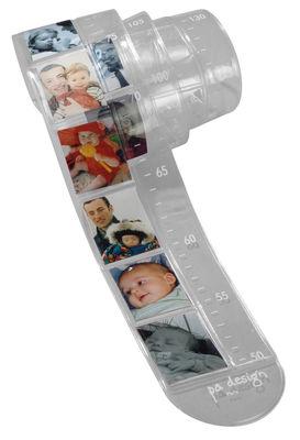Toise Théo / Cadre-photo - Pa Design transparent en matière plastique