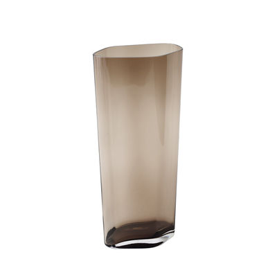 Decoration - Vases - SC38 Vase - / H 60 cm - Hand-blown glass by &tradition - H 60 cm / Caramel - Mouth blown glass