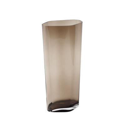 Déco - Vases - Vase SC38 / H 60 cm - Verre soufflé bouche - &tradition - H 60 cm / Caramel - Verre soufflé bouche