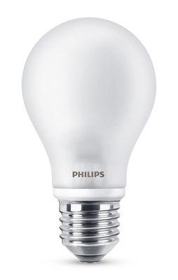 Ampoule LED E27 Standard Dépolie Inca / 4,5W (40W) - 470 lumen - Philips blanc dépoli en verre