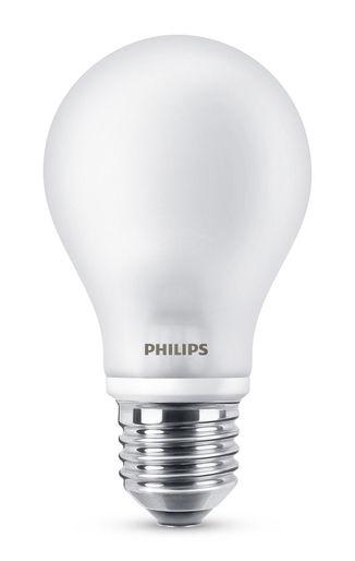 Luminaire - Ampoules et accessoires - Ampoule LED E27 Standard Dépolie Inca / 4,5W (40W) - 470 lumen - Philips - 4,5W (40W) - Métal, Verre dépoli