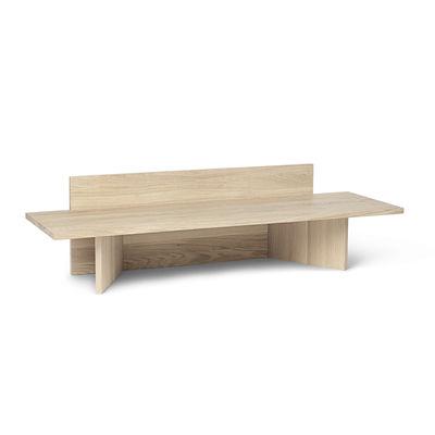 Banc Oblique / Console basse - Bois / L 120 cm - Ferm Living bois naturel en bois