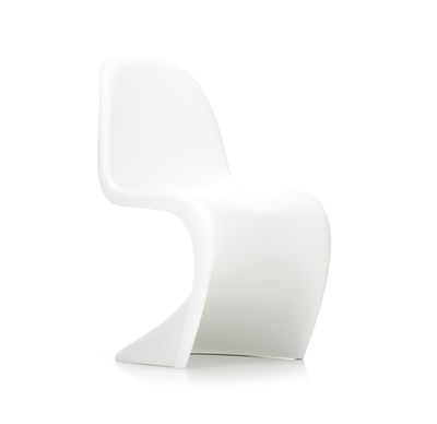 Furniture - Chairs - Panton Chair Chair - / By Verner Panton, 1959 - Polypropylene by Vitra - White - Tinted polypropylene
