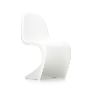 Mobilier - Chaises, fauteuils de salle à manger - Chaise Panton Chair / By Verner Panton, 1959 - Polypropylène - Vitra - Blanc - Polypropylène teinté