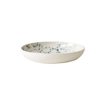 Arts de la table - Saladiers, coupes et bols - Coupe Studio / Ø16,5 cm - Grès fait main - Jars Céramistes - Buvard (blanc tacheté bleu) - Grès émaillé