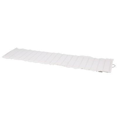 Coussin / Pour chaise longue Bistro - L 171 cm - Fermob blanc en tissu