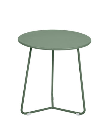 Furniture - Coffee Tables - Cocotte End table - / Stool - Ø 34 x H 36 cm by Fermob - Cactus - Painted steel