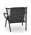 Nef Low armchair - / Backrest H 83 cm by Emu