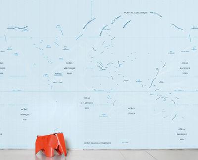 Papier peint panoramique Ocean / 8 lés - L 372 x H 300 cm - Domestic bleu en papier