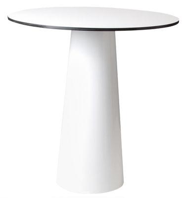 Plateau de table Container / Ø 70 cm - Moooi blanc en matière plastique