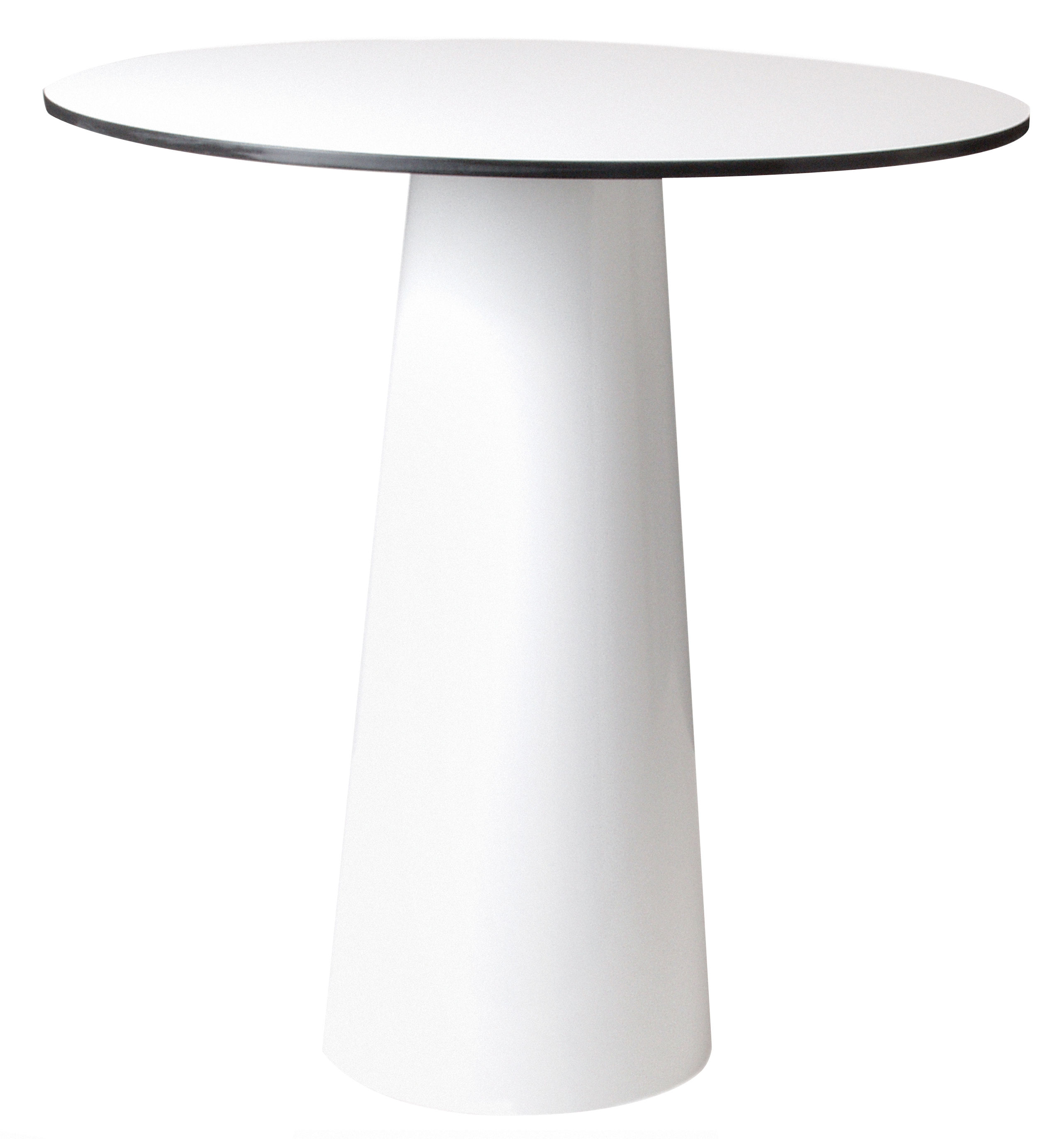 Plateau de table Container Moooi - Plateau blanc - Ø 70 cm - Ø 70 ...