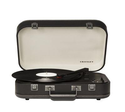 Platine vinyle Coupe portable Bluetooth Crosley blanc,noir en matière plastique