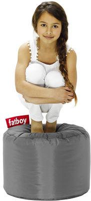 Pouf Point - Fatboy Ø 50 x H 35 cm gris foncé en tissu