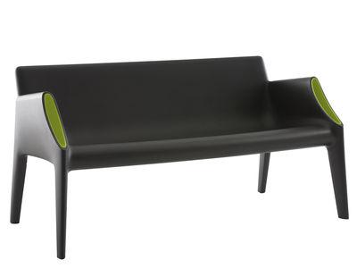 Outdoor - Sofas und Lounge Sessel - Magic Hole Sofa für innen und außen - Kartell - Schwarz-grün - Polyäthylen