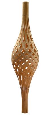 Illuminazione - Lampadari - Sospensione Nikau di David Trubridge - Legno naturale - Compensato di pino