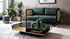 Cannage Straight sofa - / L 160 cm - Velvet by RED Edition